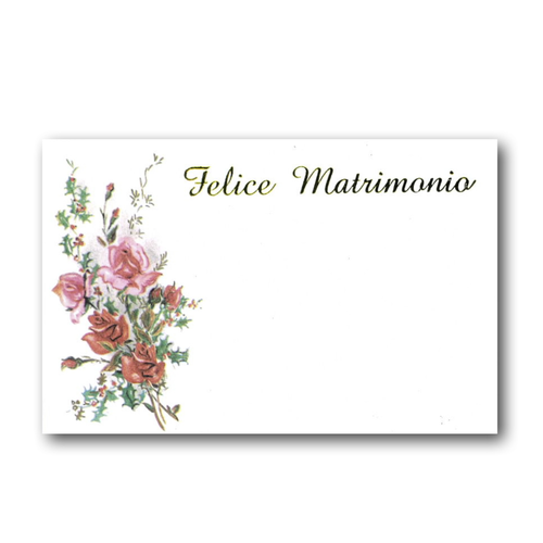 MINI CARD ROSE FELICE MATRIMONIO (100)