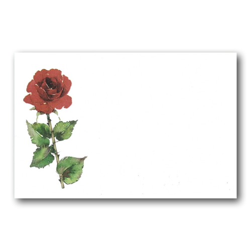 MINI CARD ROSA ROSSA (100)