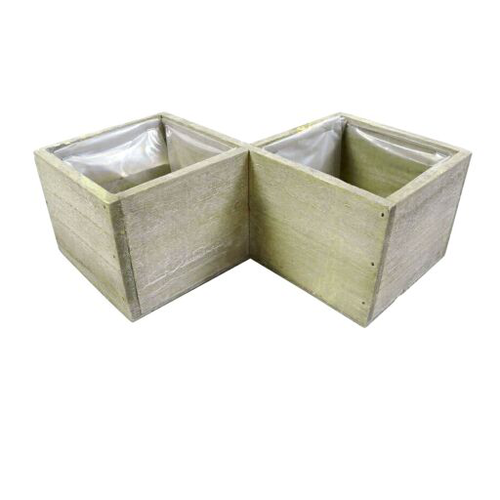 Cubi In Legno.Cubi Legno X2 C Pl 12x12cm Gr