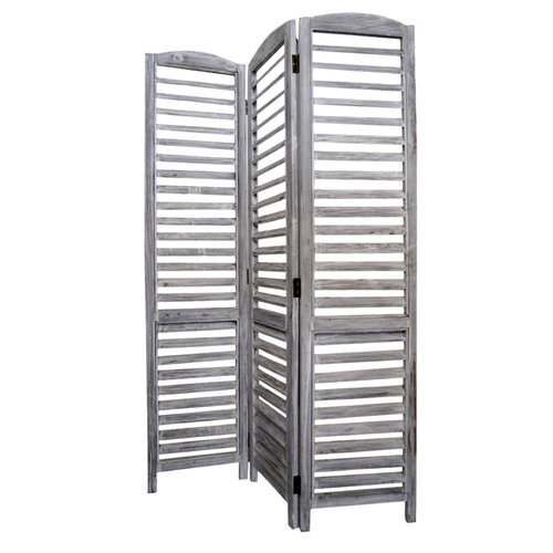 Paravento x3 legno 120x170cm bianco - Zatti - Dressing your Home