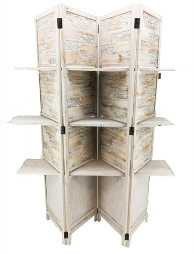 Espositore paravento legno decorato l155xh182cm - Zatti - Dressing ...