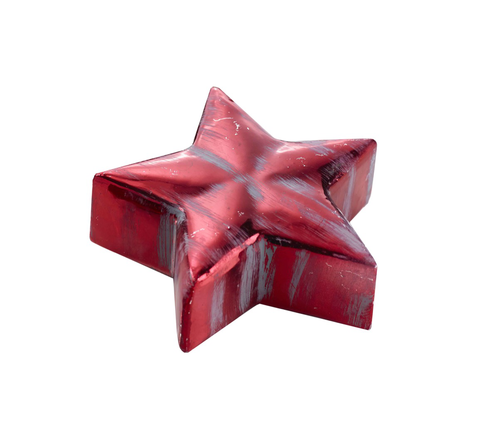 STELLE CER. (3) D.14X5CM ROSSO