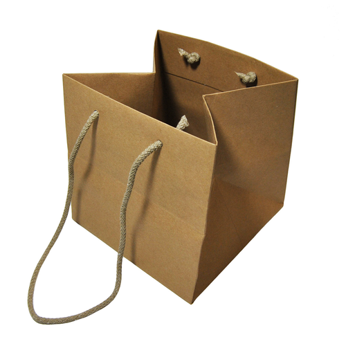 SHOPPER CARTA KRAFT CM35+27,5X29(10) AVANA