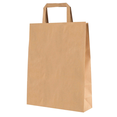 SHOPPER BIOKRAFT PIATTINA 18X8X25CM (25) AVANA
