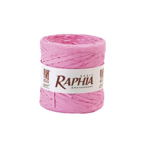 RAPHIA BASIC PACK 200MT.ROSA FLUORO