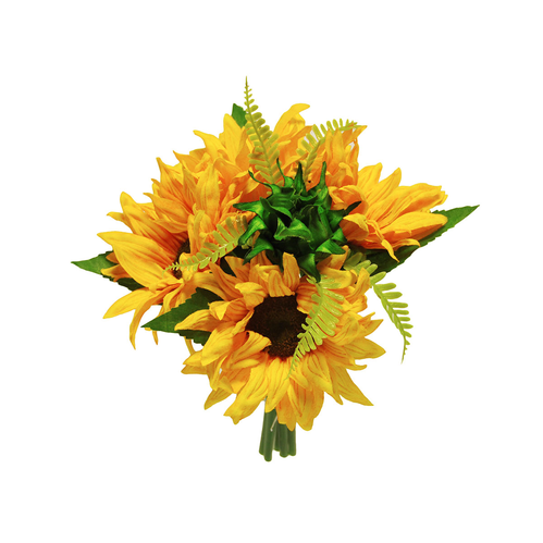 SUNFLOWER BUNDLE 23CM NATURALE