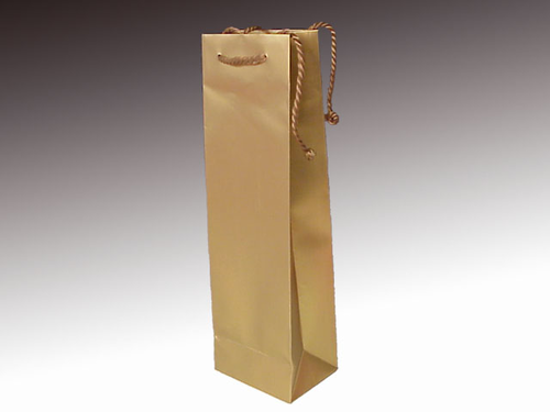 SHOPPING BAGS 12X9X39 ORO (12)